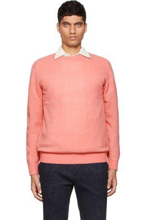Beams Pink Cashmere Silk 7G Sweater
