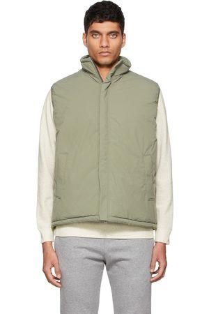 Beams Green Puff Vest