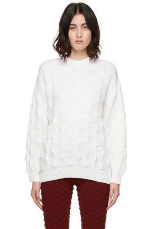 Stella McCartney Wool Popcorn Crewneck Sweater