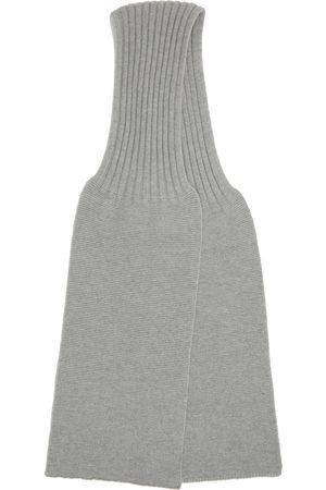 DOPPIAA Grey Aalbatro Scarf