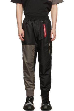 MASTERMIND JAPAN Black & Grey C2H4 Edition Bomber Pants