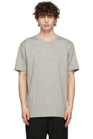 MASTERMIND JAPAN Grey Skull Necklace Short Sleeve T-Shirt