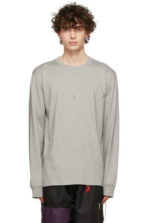 MASTERMIND JAPAN Grey Skull Necklace Long Sleeve T-Shirt