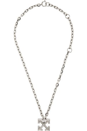 OFF-WHITE Textured Arrow Necklace