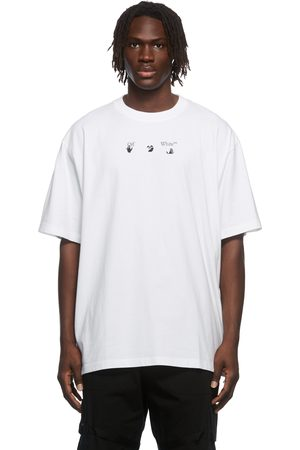 OFF-WHITE White Arrow Tree Graphic T-Shirt