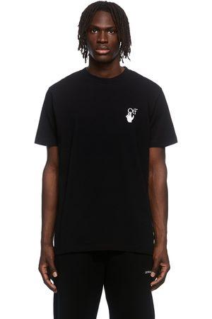 OFF-WHITE Black Caravaggio Lute Graphic T-Shirt
