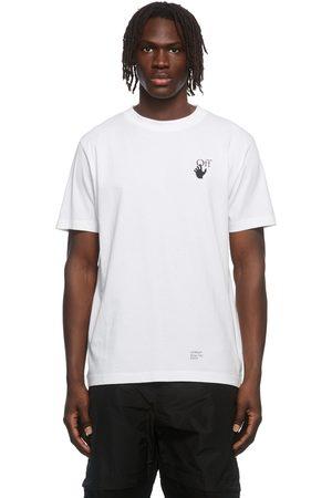 OFF-WHITE White Carav Arrow Logo T-Shirt