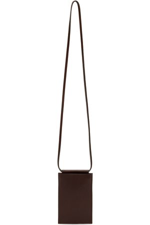 BUILDING BLOCK SSENSE Exclusive Brown iPhone Sling Pouch