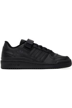 adidas Black Forum Low Sneakers