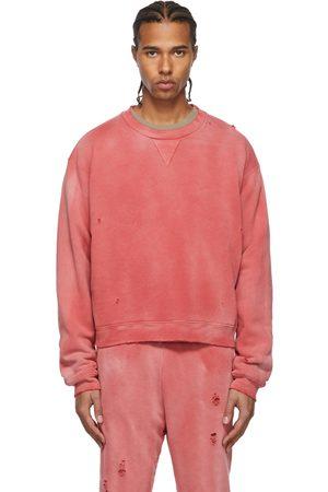 JOHN ELLIOTT Red Sundrenched Thermal Lined Folsom Sweatshirt