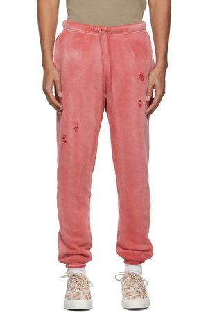 JOHN ELLIOTT Red Sundrenched Thermal Lined Folsom Lounge Pants