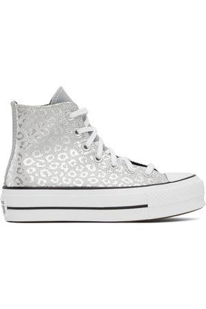 Converse Silver Warped Board All Star Hi Sneakers