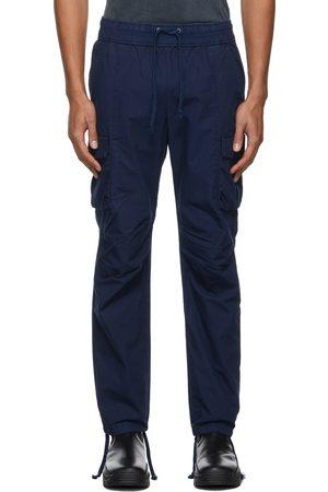 JOHN ELLIOTT Navy Back Sateen Cargo Pants