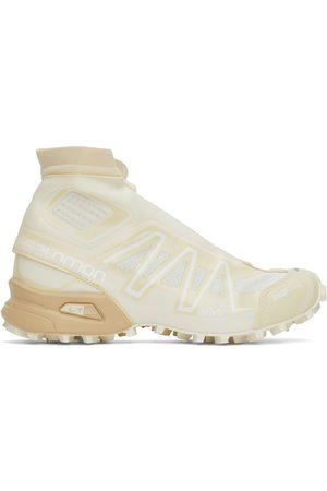 Salomon Men Sneakers - Off-White & Beige Snowcross Advanced Sneakers