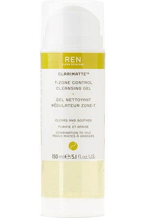 Ren Clean Skincare Clarimatte T-Zone Control Cleansing Gel, 150 mL