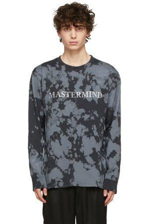 MASTERMIND Black Tie-Dye Long Sleeve T-Shirt