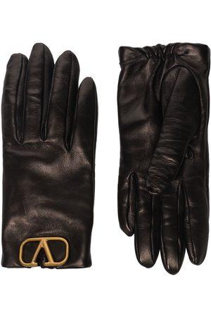 VALENTINO GARAVANI Women Gloves - Lambskin VLOGO appliqué gloves