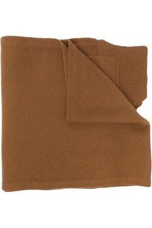 Diesel Scarves - Pocket wool-knit scarf - Neutrals