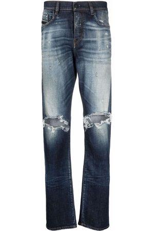 Diesel Men Straight - Viker distressed-effect straight leg jeans