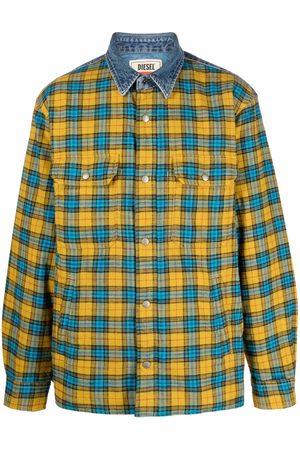 Diesel Men Casual - Check-print flannel shirt
