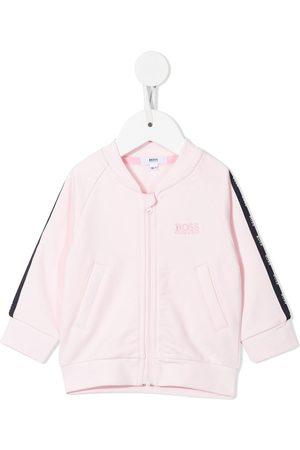 HUGO BOSS Bomber Jackets - Zip-up logo track jacket