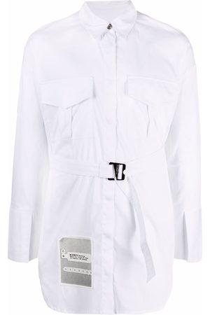 MISBHV Recodings oversized shirt dress