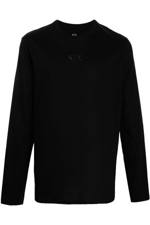 Armani Men Long Sleeve - Crewneck longsleeved top