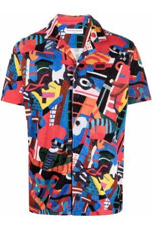 Orlebar Brown Graphic-print cotton shirt