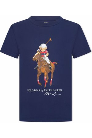 Ralph Lauren Boys Polo Shirts - Polo bear T-shirt