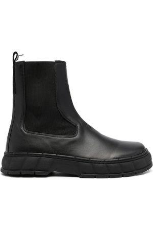 VIRON Men Chelsea Boots - Eco-leather Chelsea boots