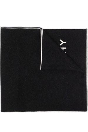 Givenchy Men Scarves - 4G intarsia knit wool-silk scarf