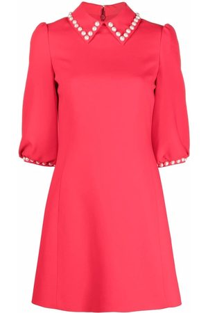 Moschino Women Dresses - Faux-pearl embellished dress