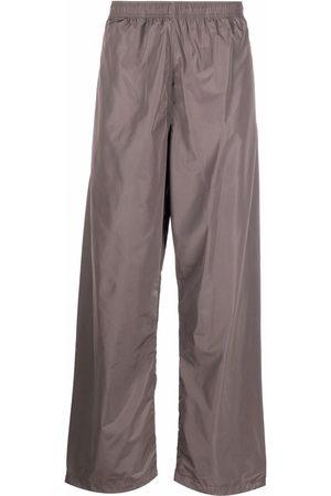 Calvin Klein Men Wide Leg Pants - Wide-leg technical trousers - Grey