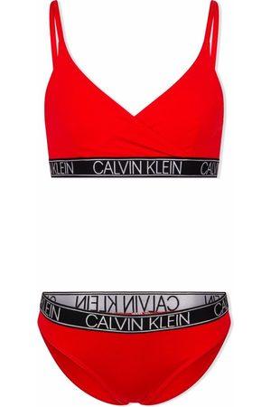 Calvin Klein Logo-band bikini set