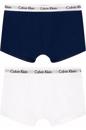 Calvin Klein Boys Boxer Shorts - 2 pack logo waistband boxers
