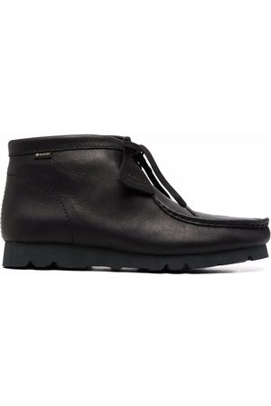 Clarks GTX Wallabee leather boots