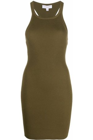Michael Kors Ribbed sleeveless knitted dress