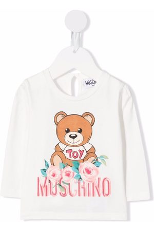Moschino T-shirts - Teddy Bear-print cotton T-Shirt