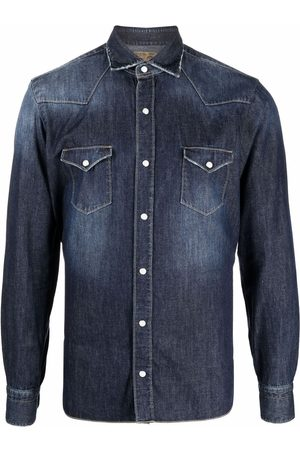 BARBA Men Denim - Button-up denim shirt