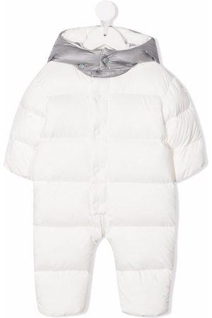 Moncler Ski Suits - Logo print padded snowsuit