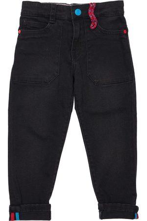 Marc Jacobs Boys Straight - Straight Cotton Denim Jeans