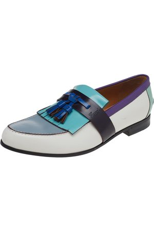Gucci Women Loafers - Leather Fringes Tassels Slip On Loafers size 41
