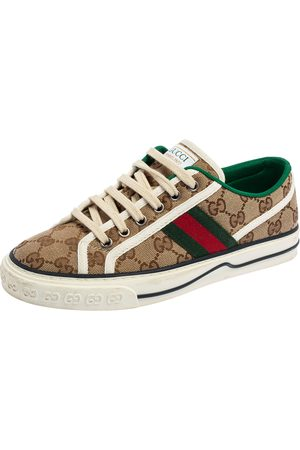 Gucci GG Canvas Tennis 1977 Sneakers Size 37.5