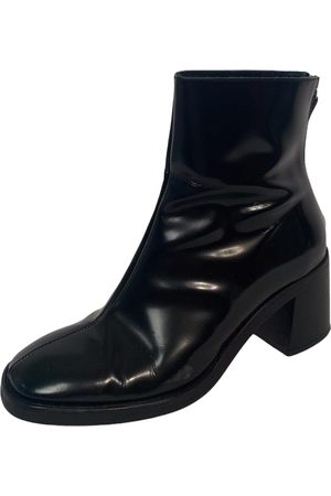 Miista Leather ankle boots