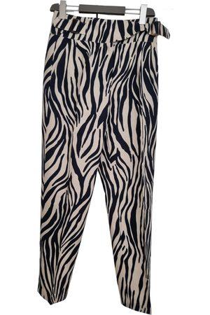 Sézane Spring Summer 2020 linen carot pants