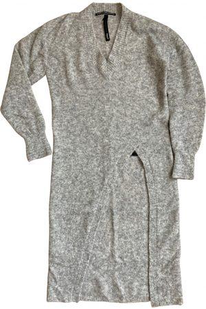 10 days Wool mid-length dress