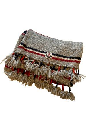 Moncler Men Pocket Squares - Wool scarf & pocket square