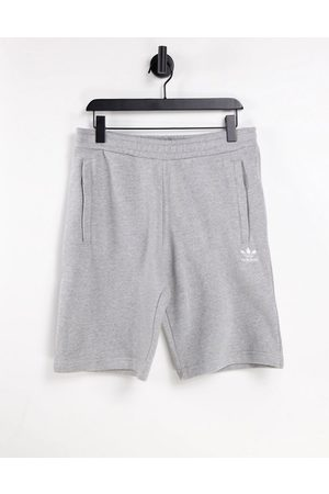 adidas Men Sports Shorts - Essentials shorts with small logo in gray