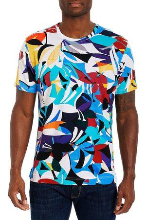 Robert Graham Lake Ashi Abstract Floral T-Shirt