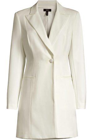 Aidan Mattox Tuxedo Blazer Dress